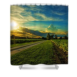 Tobacco Row Shower Curtain