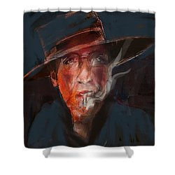 Tobaco Break Shower Curtain