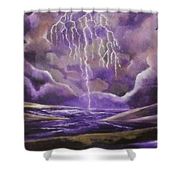 Toccata And Fugue Shower Curtain