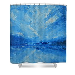 Today I Soar Shower Curtain by Jane See