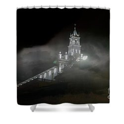 Todos Santos In The Fog Shower Curtain