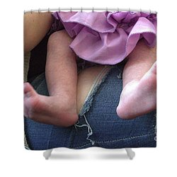 Toes Shower Curtain