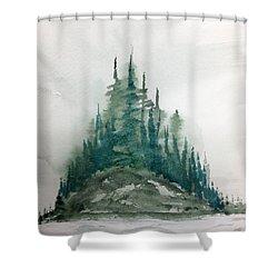 Tofino Shower Curtain