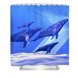 Together Shower Curtain by Corey Ford