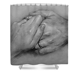 Together For Ever Shower Curtain