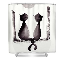 Together We'll Grow Old Shower Curtain