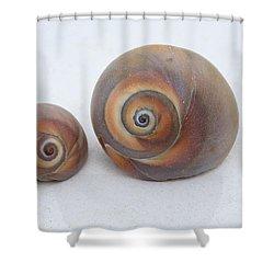 Togetherness Shower Curtain by Linda Sannuti