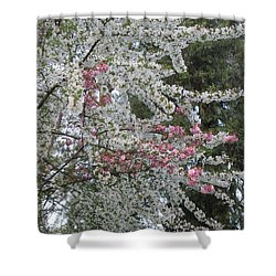 Shower Curtain featuring the photograph Togetherness by Marie Neder