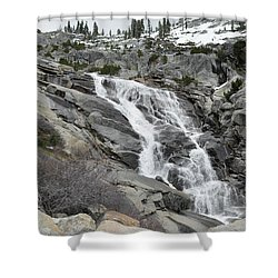Tokopah Falls Shower Curtain