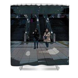 Tokyo Metro, Japan Poster Shower Curtain