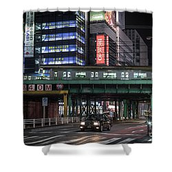Tokyo Transportation, Japan Shower Curtain