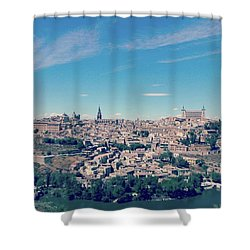 Toledo, Beautiful Medieval City Shower Curtain
