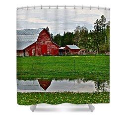 Tom And Sylvia's Shower Curtain