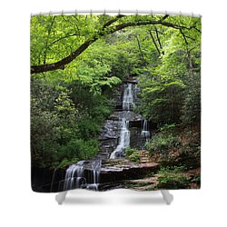 Tom Branch Falls - Gsmnp Shower Curtain