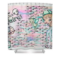 Tom Dick And Fairy Shower Curtain