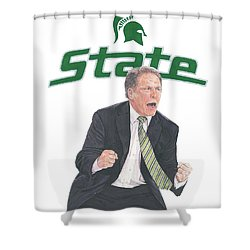 Tom Izzo Shower Curtain