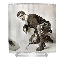 Tom Mix (1880-1944) Shower Curtain by Granger