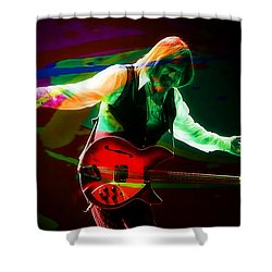 Tom Petty Shower Curtain