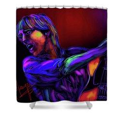 Tom Petty Tribute 2 Shower Curtain