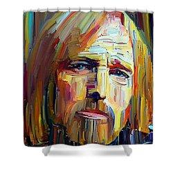 Tom Petty Tribute Portrait 4 Shower Curtain