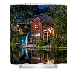 Tom Sawyers Harper's Mill Shower Curtain
