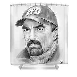 Tom Selleck Shower Curtain
