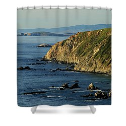 Tomales Point Shower Curtain