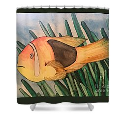 Tomato Clown Fish Shower Curtain