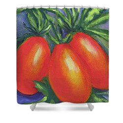Tomato Roma Shower Curtain