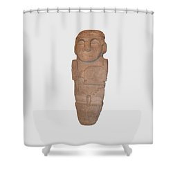 Tomb Guardian Shower Curtain