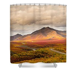 Tombstone Territorial Park Yukon Shower Curtain by Rod Jellison