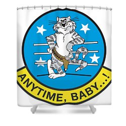 Tomcat Anytime Baby Shower Curtain
