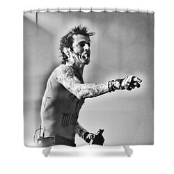 Shower Curtain featuring the photograph Tommy Boy by Traci Cottingham
