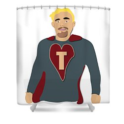 Tommy For Jenny And Jo Shower Curtain