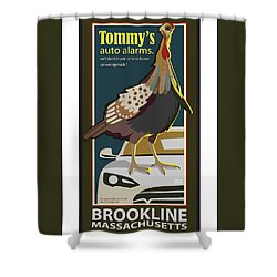 Tommy's Alarms Shower Curtain