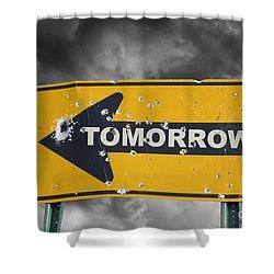 Tomorrow Shower Curtain