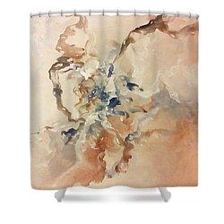 Tomorrows Dream Shower Curtain by Raymond Doward