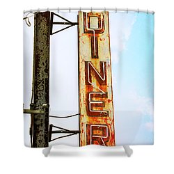 Tom's Diner Shower Curtain