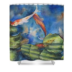 Tom's Pond Shower Curtain