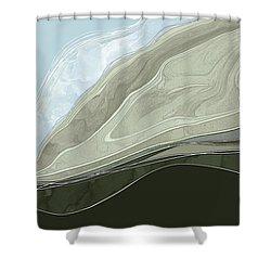 Tone Poem Shower Curtain