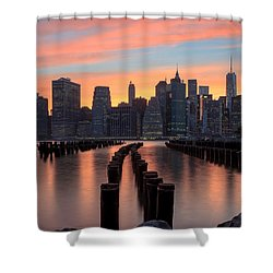 Tones Shower Curtain