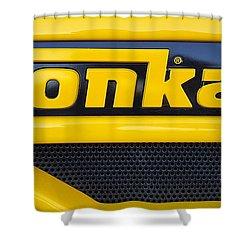 Tonka Truck Logo Shower Curtain