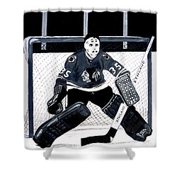 Tony Esposito Shower Curtain