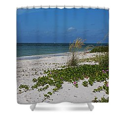 Shower Curtain featuring the photograph Too Much Space Between Us by Michiale Schneider