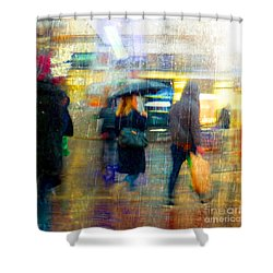 Shower Curtain featuring the photograph Too Warm To Snow by LemonArt Photography
