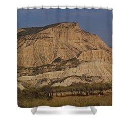 Bardenas Reales Shower Curtain