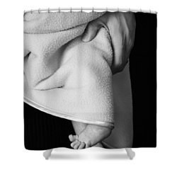 Shower Curtain featuring the photograph Tootsies by Angela Rath