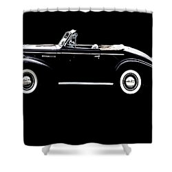 Top Down Shower Curtain