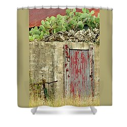 Shower Curtain featuring the photograph Top Heavy by Joe Jake Pratt