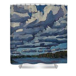 Top Lit Cumulus Shower Curtain